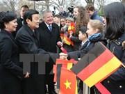 President meets Berlin Mayor, German parliamentarians
