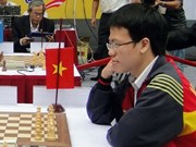 Vietnam's top chess ace at 32 in year-end rankings