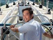 Sailor to put Vietnam's central city on the map