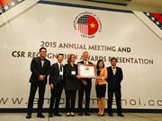Microsoft receives CSR award