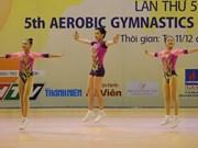 Vietnam earns ten golds at Asian aerobic championships