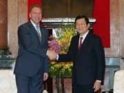 President welcomes Russian First Deputy Prime Minister