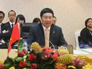 Lower Mekong nations step up ties with friends
