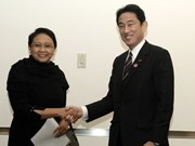 Japan, Indonesia hold first security talks