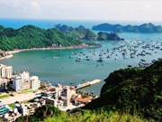 Cat Ba - a chain of Jade islands