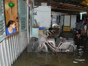 HCM City spends 444 million USD for flooding control