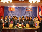 Vietnamese, Lao home affairs ministries boost cooperation