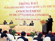 Vietnam invites int'l diplomats to 12th party congress