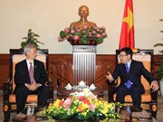 Deputy Prime Minister meets outgoing Thai Ambassador