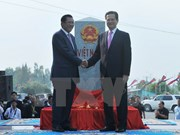Border markers' inauguration reflects Vietnam-Cambodia's joint resolve