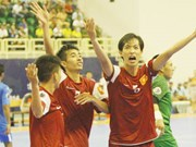 National futsal team called up