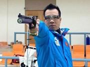 Vietnamese marksman ranks third in world 50m pistol shooting