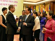 ASEAN Community establishment marked at PM's banquet