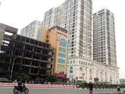 Apartment market in two major cities rising