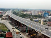 Hanoi's largest road flyover reduces traffic jams