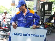 Petrol prices down 590 VND per litre