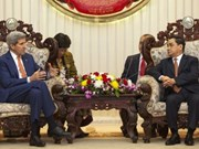 US Secretary of State visits Laos to increase cooperation