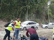 Malaysian police discover 13 bodies at Johor's beach