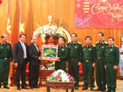 Deputy PM visits soldiers ahead of Lunar New Year