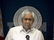 Philippine foreign minister resigns