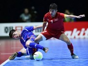 Vietnam tackle Thailand in futsal event