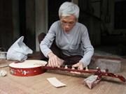 Dao Xa village craftsman helps preserve folk music