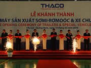 Vietnam's first trailer manufacturing factory inaugurated