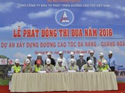 Construction of Da Nang – Quang Ngai Expressway accelerated