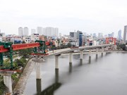 Cat Linh-Ha Dong railway nears completion