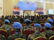 Cambodia marks decade of UN peacekeeping participation
