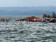 Over 70 passengers rescued from sinking ferry in Indonesia