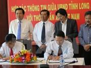 Vietnam News Agency, Long An strengthen communication cooperation