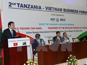 President attends Tanzania – Vietnam business forum