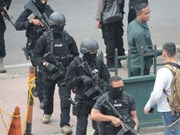 Indonesia arrests 14 people suspected of heading to Syria