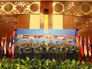 ASEAN chiefs of defence forces meet in Vientiane
