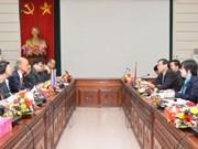 Bac Ninh, Thai King Institute share socio-economic growth experience