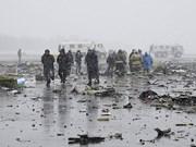 President sends condolences to Russia over plane crash