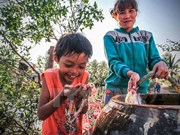 Clean water comes to disadvantaged children