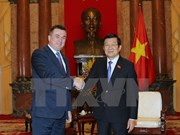 President welcomes Russia's Primorye territory governor