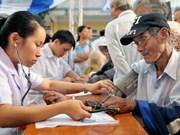 Elder people receive better healthcare