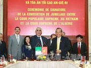 Vietnam, Algeria exchange practices in judiciary