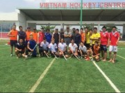 Hockey community passes the puck to Vietnam