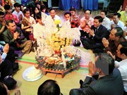 Lao New Year celebrated in Thai Nguyen