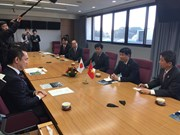 Japanese locality wishes to bolster cooperation with Vietnam