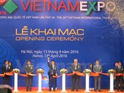 Vietnam Expo 2016 opens in Hanoi