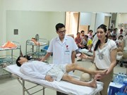 Vietnam has nearly 6,000 people with hemophilia