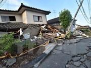 Condolences to Japan over earthquakes