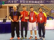 Vietnam wins bronze medal at Asian fencing tourney