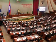 Lao new legislature opens first session