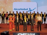 AkzoNobel wins Rong Vang award for 3rd year